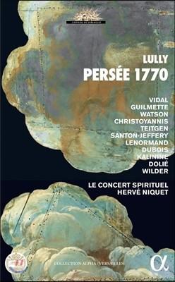 Le Concert Spirituel / Herve Niquet 장-밥티스트 륄리: 오페라 '페르세' 전곡 [1770년 버전] (Jean-Baptiste Lully: Persee) 르 콩세르 스피리튀엘, 에르베 니케