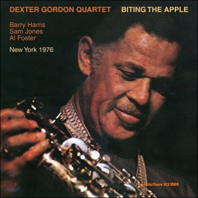 Dexter Gordon Quartet (덱스터 고든 쿼텟) - Biting The Apple [LP]