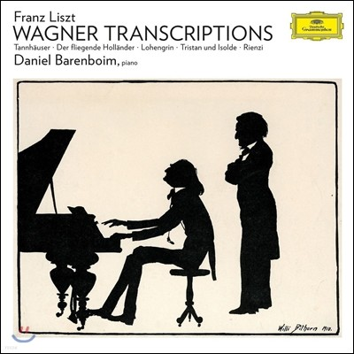 Daniel Barenboim 리스트: 바그너 편곡집 - 탄호이저, 로엔그린, 트리스탄과 이졸데 (Liszt: Wagner Transcriptions) 다니엘 바렌보임 [LP]
