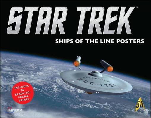 Star Trek Ships of the Line Posters