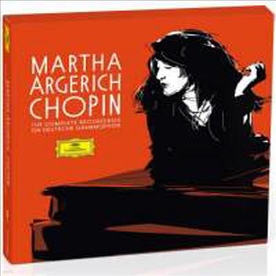 아르헤리치 - DG 쇼팽 녹음 전집 (Martha Argerich - Complete Chopin Recordings) (5CD Boxset) - Martha Argerich
