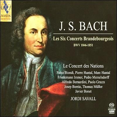 Jordi Savall 바흐: 브란덴부르크 협주곡 전곡 (Bach: Brandenburg Concertos Nos. 1-6 BWV1046-1051) 조르디 사발