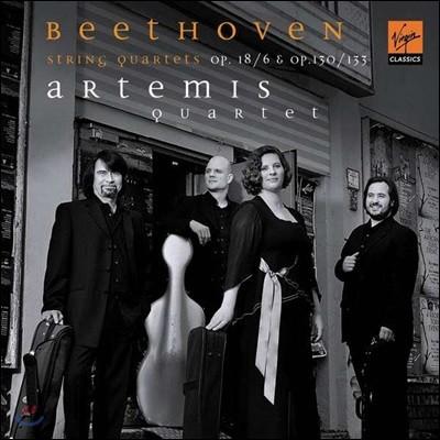Artemis Quartett 베토벤: 현악 사중주곡 6, 13번 (Beethoven: String Quartets Op. 130, 133)