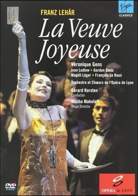 Veronique Gens 레하르: 유쾌한 미망인 (Lehar: La Veuve Joyeuse) [DVD]