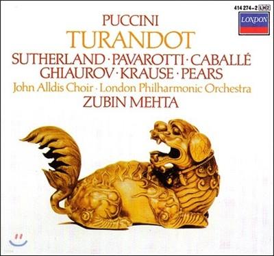 Joan Sutherland / Luciano Pavarotti 푸치니: 투란도트 (Puccini: Turandot)
