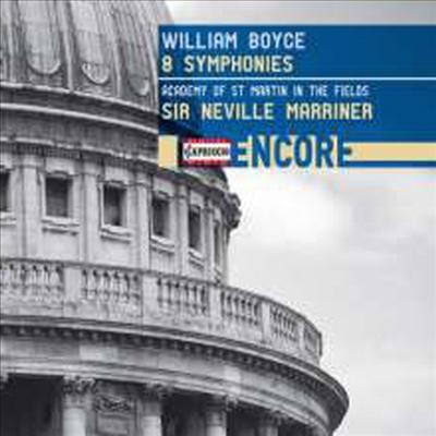 보이스: 8개의 교향곡 (Boyce: 8 Symphonies) - Neville Marriner
