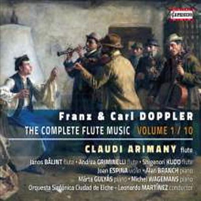 도플러: 플루트 작품집 (Franz & Carl Doppler: Flute Music) - Claudi Arimany