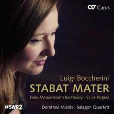 보케리니: 슬픔의 성모, 멘델스존: 살베 레지나 (Boccherini: Stabat Mater, Mendelssohn: Salve Regina) - Dorothee Mields