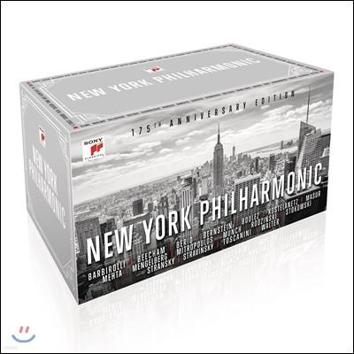 뉴욕 필하모닉 175주년 기념 에디션 65CD 박스 세트 (New York Philharmonic - 175th Anniversary Edition)