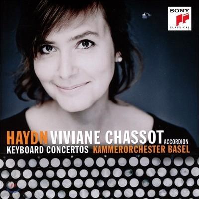 Viviane Chassot 하이든: 키보드 협주곡 - 아코디언 편곡 연주반 (Haydn: Keyboard Concertos played on Accordion) 비비안 샤소, 바젤 실내 관현악단