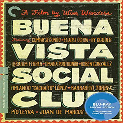 Criterion Collection: Buena Vista Social Club (부에나 비스타 소셜 클럽)(한글무자막)(Blu-ray)