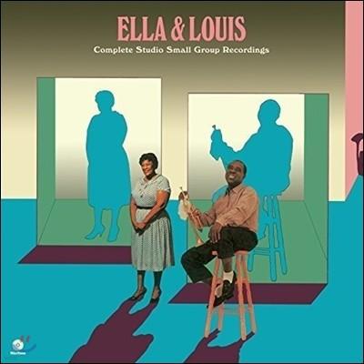 Ella Fitzgerald / Louis Armstrong (엘라 피츠제럴드, 루이 암스트롱) - Ella & Louis: Complete Studio Small Group Recordings [2LP]