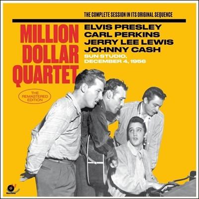 Elvis Presley, Carl Perkins, Jerry Lee Lewis, Johnny Cash - Million Dollar Quartet 엘비스 프레슬리, 칼 퍼킨스, 제리 리 루이스, 쟈니 캐시 [2LP]