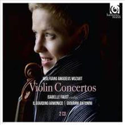 모차르트: 바이올린 협주곡 전집 1번 - 5번 (Mozart: Complete Violin Concertos Nos.1 - 5) (2CD) - Isabelle Faust