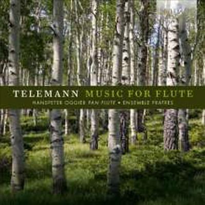 텔레만: 플루트 협주곡 (Telemann: Flute Concertos) - Hanspeter Oggier
