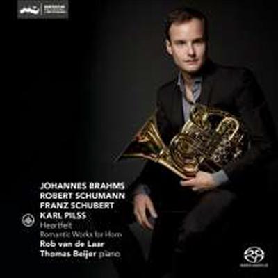 낭만적인 호른 작품집 (Heartfelt - Romantic Works for Horn) (SACD Hybrid) - Rob van de Laar