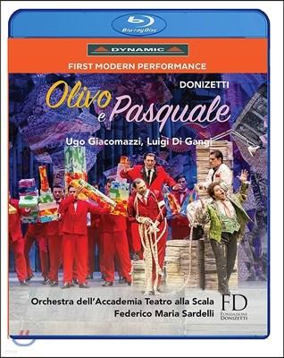 Federico Maria Sardelli 도니제티: 올리보와 파스쿠알레 (Donizetti: Olivo e Pasquale) 페데리코 마리아 사르델리, 라 스칼라 아카데미 오케스트라