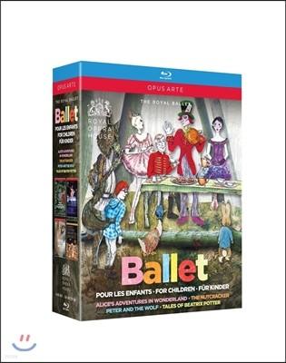 The Royal Ballet 영국 로얄 발레단 - 어린이를 위한 발레: 이상한 나라의 앨리스, 호두까기 인형, 피터와 늑대, 베아트릭스 포터 이야기