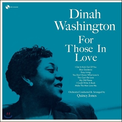 Dinah Washington (디나 워싱턴) - For Those In Love [180g LP]