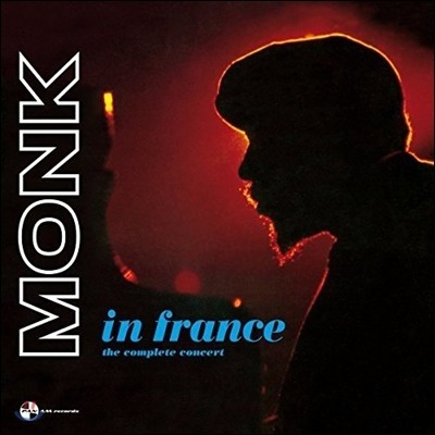 Thelonious Monk - In France: The Complete Concert 텔로니어스 몽크 1961년 프랑스 라이브 실황 [2 LP]