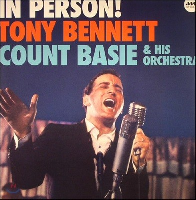 Tony Bennett / Count Basie Orchestra - In Person! [LP]