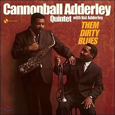 Cannonball Adderley Quintet - Them Dirty Blues with Nat Adderley (캐논볼 애덜리 퀸텟 & 냇 애덜리) [LP]