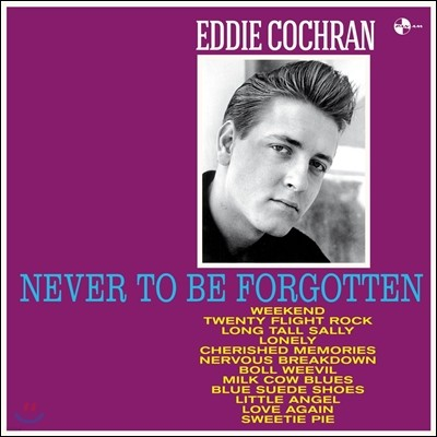 Eddie Cochran (에디 코크란) - Never To Be Forgotten [LP]