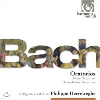 Philippe Herreweghe / Collegium Vocale Gent 바흐: 부활절, 승천절 오라토리오 외 - 필립 헤레베헤 (J.S. Bach: Easter Oratorio, Ascension Oratorio)