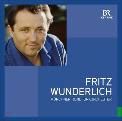 프리츠 분덜리히 - 뮌헨 방송교향악단과의 기억들 (Fritz Wunderlich & Munchner Rundfunkorchester) [LP]