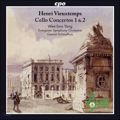 Wen-Sinn Yang 비외탕: 첼로 협주곡 1번, 2번, 카프리치오 '파가니니에게 바치는 오마주' (Vieuxtemps: Cello Concertos Op.46 & Op.50, Hommage a Paganini Op.55) 웬신 양
