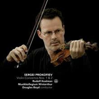 프로코피에프: 바이올린 협주곡 1번 & 2번 (Prokofiev: Violin Concertos Nos.1 & 2) (SACD Hybrid) - Rudolf Koelman