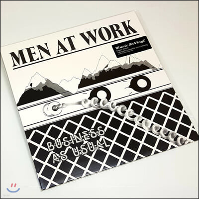 Men At Work (맨 앳 워크) - Business As Usual [LP]
