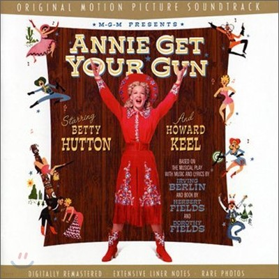 Annie Get Your Gun (애니여 총을 잡아라) OST (Music by Irving Berlin)
