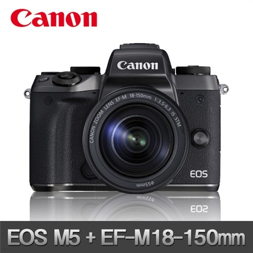 (캐논코리아 정품) EOS-M5 + EF-M 18-150 미개봉 상품