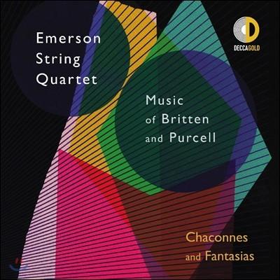 Emerson String Quartet 에머슨 스트링 콰르텟 - 브리튼 / 퍼셀: 샤콘느와 환상곡 (Chaconnes and Fantasias - Music of Britten & Purcell)
