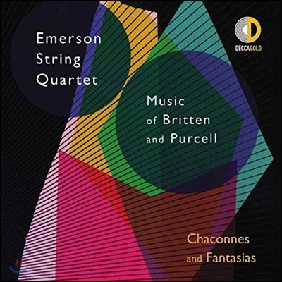 Emerson String Quartet 에머슨 스트링 콰르텟 - 브리튼 / 퍼셀: 샤콘느와 판타지 (Chaconnes and Fantasias - Music of Britten & Purcell)