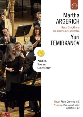Martha Argerich 노벨상 기념 콘서트 2009 - 마르타 아르헤리치 & 유리 테미르카노프 (Nobel Prize Concert - Ravel: Piano Concerto / Prokofiev: Romeo and Juliet Suites 1, 2)