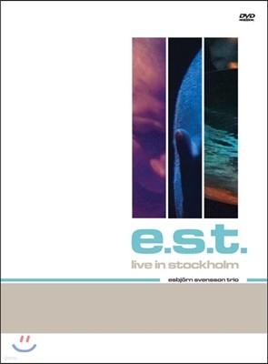 E.S.T. (Esbjorn Svensson Trio) - Live In Stockholm 에스비외른 스벤손 트리오 2000년 라이브 인 스톡홀름