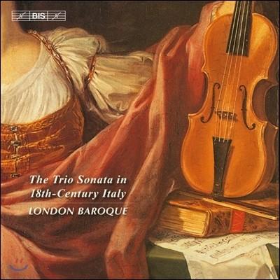 London Baroque 18세기 이탈리아의 트리오 소나타 (The Trio Sonata in 18th-Century Italy) 런던 바로크