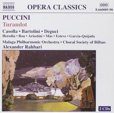 Puccini : Turandot : Alexander Rahbari
