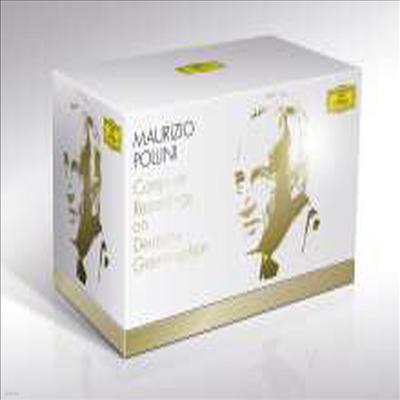 마우리치오 폴리니 - 도이치 그라모폰 전집 (Maurizio Pollini - Complete Recordings on DG) (55CD + 3DVD Boxset) - Maurizio Pollini