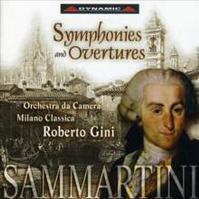 삼마르티니: 교향곡과 서곡 (Sammartini: Symphonies & Overtures) - Roberto Gini