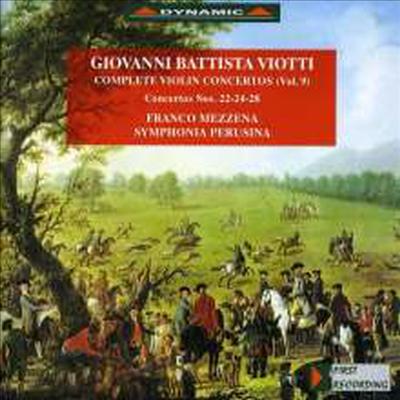 비요티: 바이올린 협주곡 22, 24, 28번 (Viotti: Violin Concertos) - Franco Mezzena