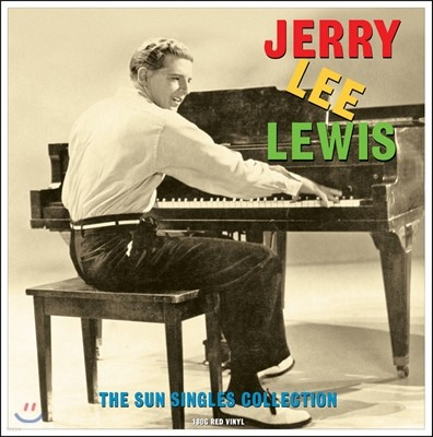 Jerry Lee Lewis (제리 리 루이스) - The Sun Singles Collection [레드 컬러 LP]