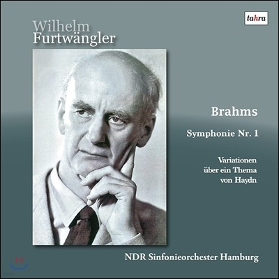 Wilhelm Furtwangler 브람스: 교향곡 1번, 하이든 주제에 의한 변주곡 (Brahms: Symphony Op.68, Haydn Variations Op.56a) 빌헬름 푸르트벵글러, 북독일 방송 교향악단 [2LP]