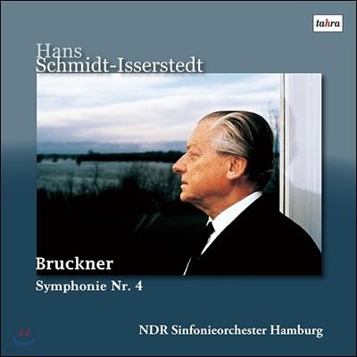 Hans Schmidt-Isserstedt 브루크너: 교향곡 4번 '로맨틱' [하스 판본] (Anton Bruckner: Symphony 'Romantic' WAB104) 한스 슈미트-이세르슈테트, 북독일 방송 교향악단 [2LP]