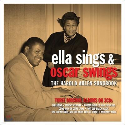 Ella Fitzgerald / Oscar Peterson (엘라 피츠제럴드, 오스카 피터슨) - Ella Sings & Oscar Swings Harold Arlen Songbook (해롤드 알렌 송북)