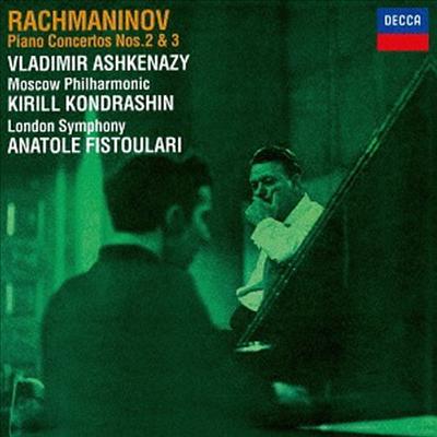 라흐마니노프: 피아노 협주곡 2, 3번 (Rachmaninov: Piano Concertos No.2 & 3) (SHM-CD)(일본반) - Vladimir Ashkenazy