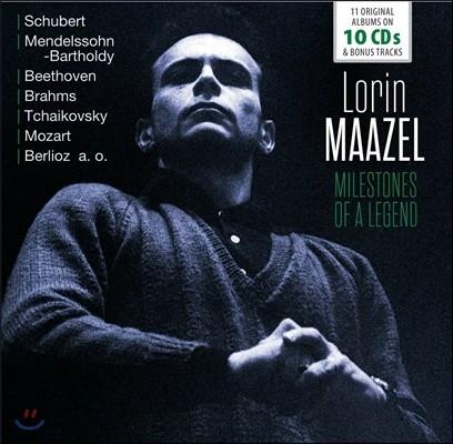 Lorin Maazel 로린 마젤 - 전설의 마일스톤즈: 10 오리지널 앨범 (Milestones of a Legend - 11 Original Albums)