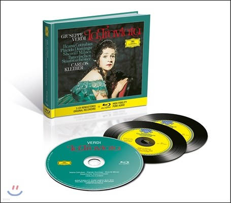 Ileana Cotrubas / Carlos Kleiber 베르디: 라 트라비아타 - 일레아나 코트루바스, 카를로스 클라이버 (Verdi: La Traviata)  [2CD+Blu-Ray Audio]